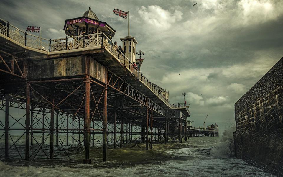 Michael Marsh was the overall winner, for his shot of Brighton Palace Pier - Michael Marsh