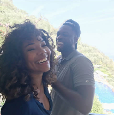 "<p>They are all smiles here on a photo captioned, ""Joy."" Seems about right. (Photo: <a rel=""nofollow"" href=""https://www.instagram.com/p/BV2RSaXgYN0/?hl=en"">Gabrielle Union via Instagram</a>) </p>"