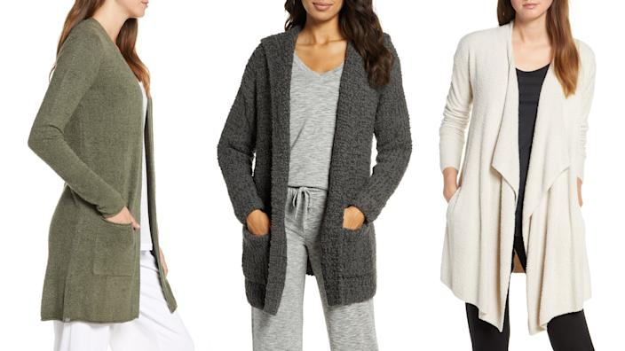 These are the coziest cardigans.