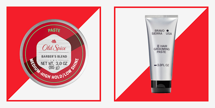 """<p>In the world of hairstyling, hair paste is the MVP. It's one of those products that can do almost anything from subtly smoothing and taming frizz to locking your hair into a more defined style. Think of paste as a hybrid—it can have the hold of <a href=""""https://www.menshealth.com/grooming/g37234861/best-pomade-men/"""" rel=""""nofollow noopener"""" target=""""_blank"""" data-ylk=""""slk:hair pomade"""" class=""""link rapid-noclick-resp"""">hair pomade</a>, the texturizing ability of <a href=""""https://www.menshealth.com/grooming/g36038996/hair-clay-for-men/"""" rel=""""nofollow noopener"""" target=""""_blank"""" data-ylk=""""slk:hair clay"""" class=""""link rapid-noclick-resp"""">hair clay</a>, and the natural finish of a styling cream. Basically, if you have all of those things in your medicine cabinet already, you could replace them all with just one jar of hair paste.</p><p>Because it's heavier than your typical styling cream, a paste is ideal for short and medium-length hair. It usually adds a little grit and is best for creating textured, slightly disheveled looks—like a """"just-rolled-out-of-bed"""" vibe or """"just-got-back-from-the-beach"""" look. Paste, by default, delivers a smaller amount of shine than a traditional pomade (most of them are water-, not oil-, based) which leaves your hair with a natural look, even if you don't opt for a completely matte version. That means the only thing it's not great for is old-school, slicked-back looks.</p><p>Using a paste is easy: apply a small, dime-sized amount of product on wet hair for a little bit more hold or dry hair for more texture. Make sure to warm it up by rubbing it in the palm of your hands before applying it to avoid clumping. Most pastes are water-soluble, which means they're easy to wash out <a href=""""https://www.menshealth.com/grooming/g19547857/best-shampoo-for-hair-type/"""" rel=""""nofollow noopener"""" target=""""_blank"""" data-ylk=""""slk:with some shampoo"""" class=""""link rapid-noclick-resp"""">with some shampoo</a> and won't leave your hair greasy but also can be restyled and rewo"""