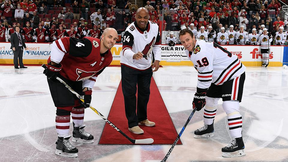 TNT needs to find a way to get Charles Barkley involved in their hockey coverage. (Photo by Norm Hall/NHLI via Getty Images)