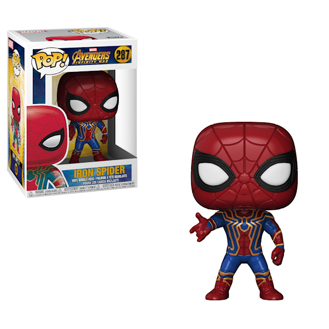 Iron Spider Pop! figure (Photo: Funko)