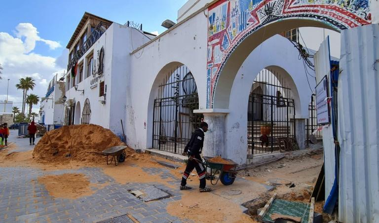 Substantial work is underway to restore the Libyan capital's old city to something like its former glory