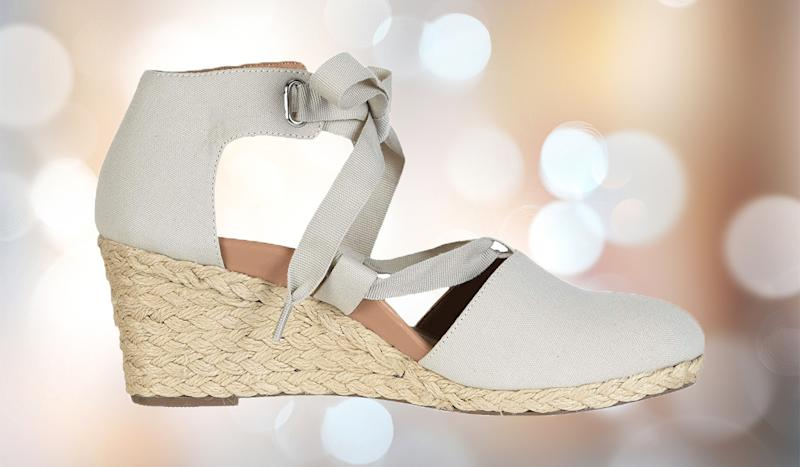 The perfect casual-yet-dressy wedge. (Photo: Zappos)