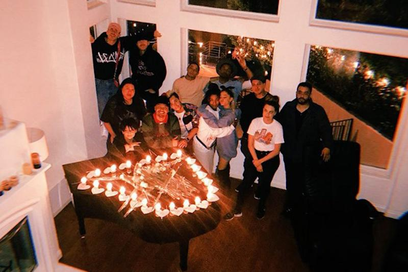 In memory: Ariana Grande's family gathers at vigil on May 22: Joan Grande/Twitter