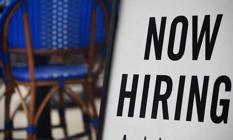 US unemployment rate falls to 7.9% in last look at jobs market before elections