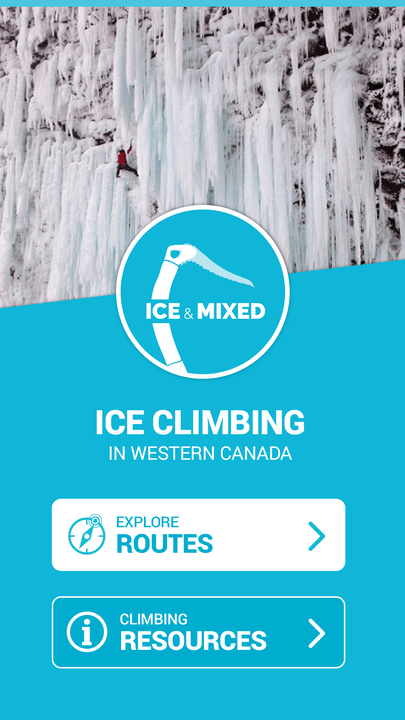 will gadd ice and mixed climbing app routes