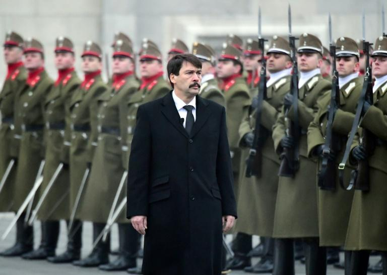 In Hungary's last presidential election five years ago, Prime Minister Viktor Orban's ally Janos Ader (pictured) ran uncontested
