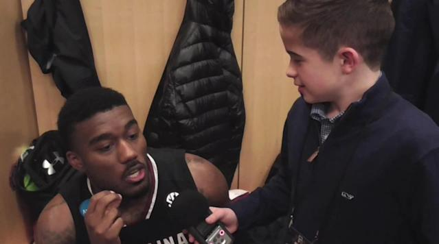 Interview with Gamecocks Guard Duane Notice