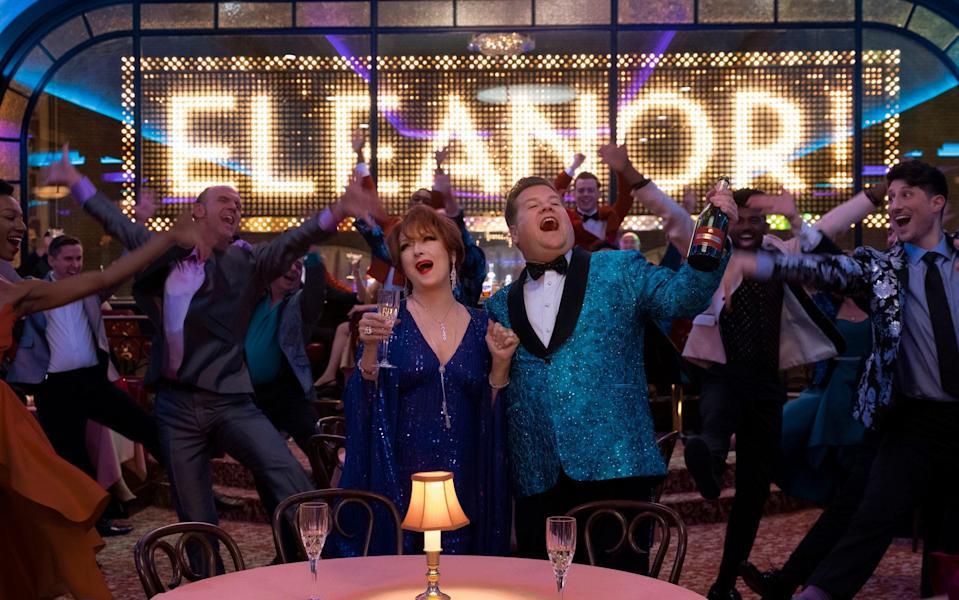 Meryl Streep and James Corden star in a lazy, tiresome, stereotype-perpetuating film from Ryan Murphy - Netflix