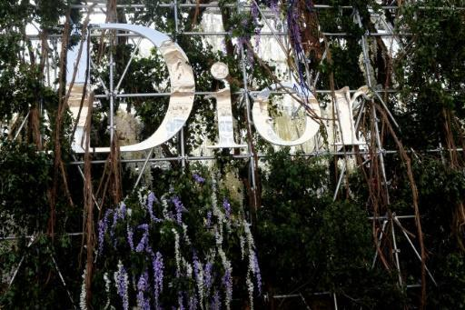Dior shows cruise collection in Los Angeles