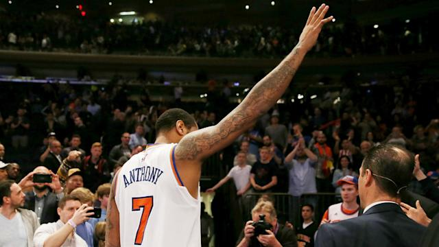 """Carmelo Anthony has reportedly already """"mentally moved on"""" from the Knicks."""