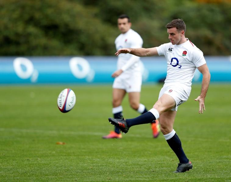 Best foot forward: The rugby knowledge of George Ford, England's captain against Japan, is second to none, according to team-mate Maro Itoje