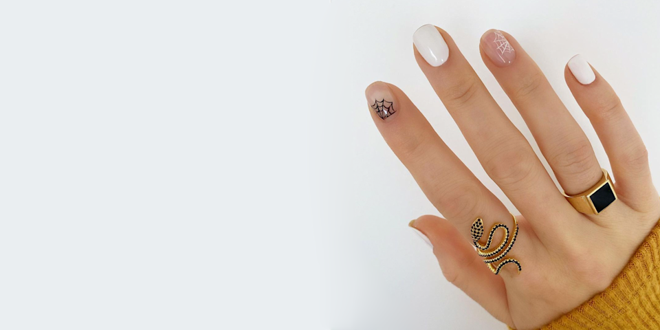 44 Fun, Creepy, and Kooky Nail Art Ideas for the Halloween-Obsessed