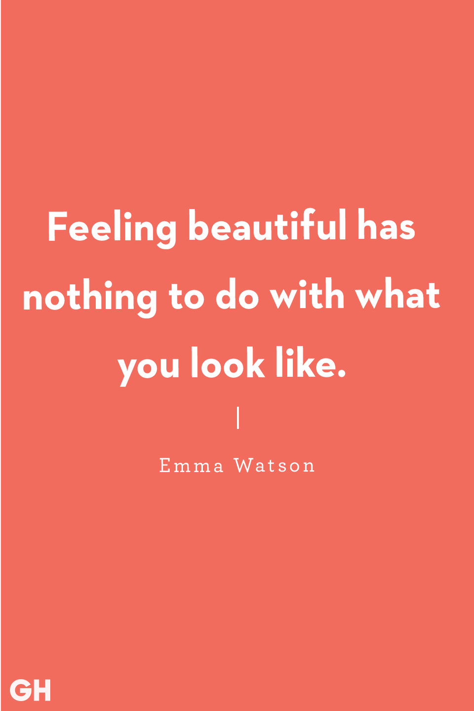 "<p>""Feeling beautiful has nothing to do with what you look like."" </p>"