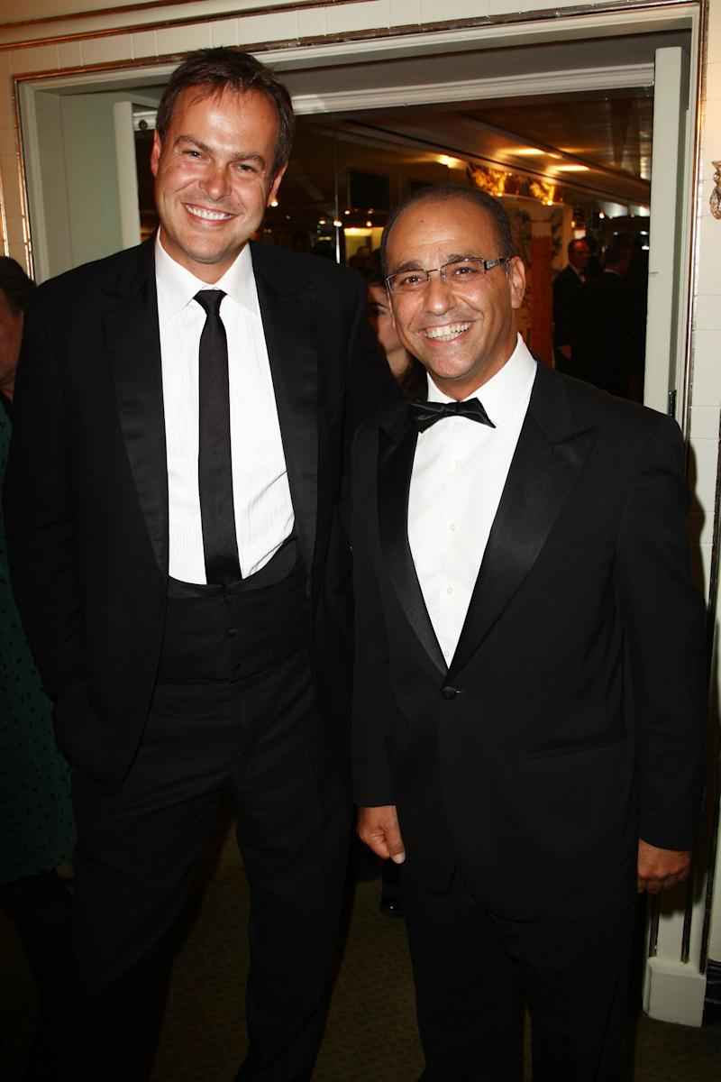 <strong>&nbsp;Peter Jones&nbsp;and&nbsp;Theo Paphitis</strong> (Photo: Dave Hogan via Getty Images)