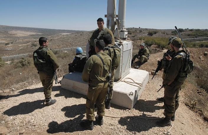 The deal covers the period from 2019 to 2028 and will see Israel receive $3.3 billion per year in foreign military financing -- up from $3.1 billion per year currently -- and $500,000 per year in funding for missile defense (AFP Photo/Jalaa Marey)