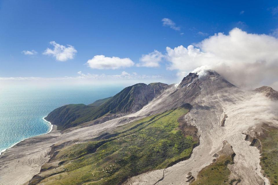 """<p>Volcanos helped shaped most of the Caribbean and it looks like they're still not done. """"There are 19 'live' (likely to erupt again) volcanoes in the Eastern Caribbean. Every island from Grenada to Saba is subject to the direct threat of volcanic eruptions. Islands such as Grenada, St. Vincent, St. Lucia, Martinique, Dominica, Guadeloupe, Montserrat, Nevis, St. Kitts, St. Eustatius and Saba have 'live' volcanic centres, while other islands such as Anguilla, Antigua, Barbuda, Barbados, British Virgin Islands, most of the Grenadines and Trinidad & Tobago (which are not volcanic) are close to volcanic islands and subject to volcanic hazards such as severe ash fall and volcanically-generated tsunamis."""" says the <a href=""""http://uwiseismic.com/"""" rel=""""nofollow noopener"""" target=""""_blank"""" data-ylk=""""slk:Seismic Research Center at The University of the West Indies"""" class=""""link rapid-noclick-resp"""">Seismic Research Center at The University of the West Indies</a>. </p>"""