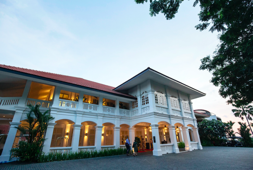 <em>The summit will take place at the Capella Hotel on Sentosa Island (PA)</em>