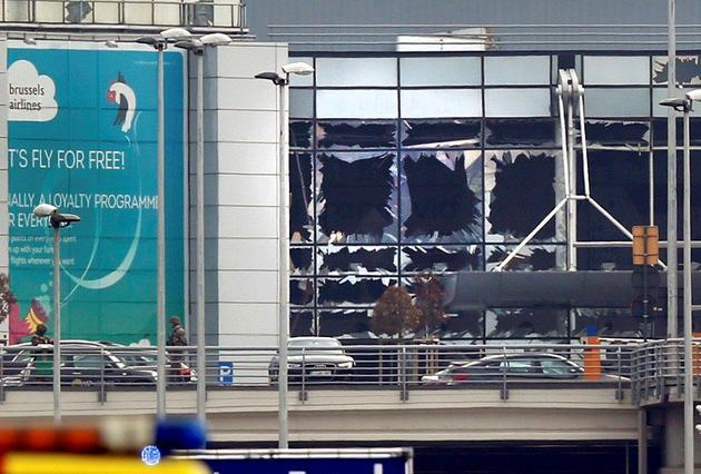 Brussels attacks: In pictures