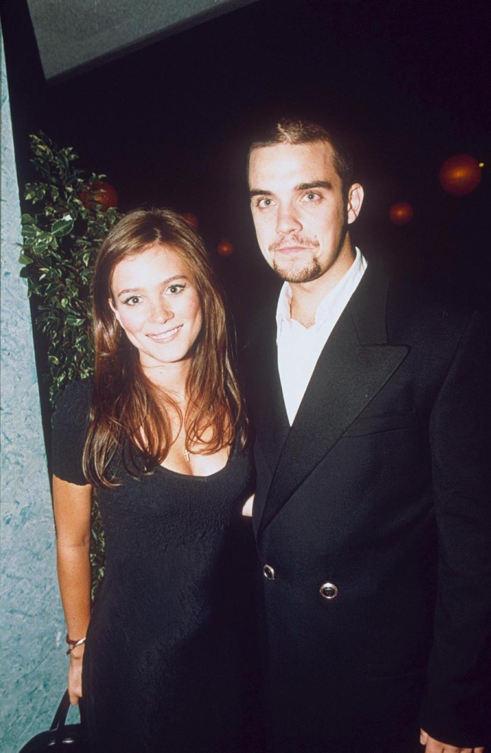Given she'd go on to be nominated for a Golden Globe, it's quite sweet that Anna Friel was the big winner at the first ever NTAs back in 1995, for her performance in 'Brookside'.<br /><br />Here she is at the ceremony with then-boyfriend Robbie Williams, still a year away from releasing his debut solo single, a cover of George Michael's 'Freedom'.