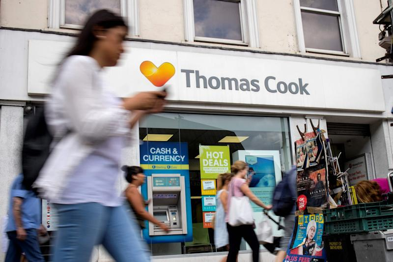 Hays has already recruited more than 1,200 ex-Thomas Cook staff - AFP