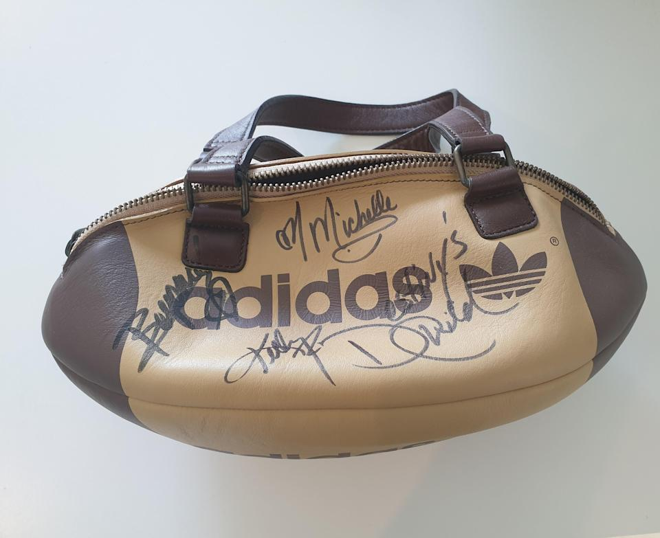 Bag signed by Destiny's Child (Teenage Cancer Trust/PA)