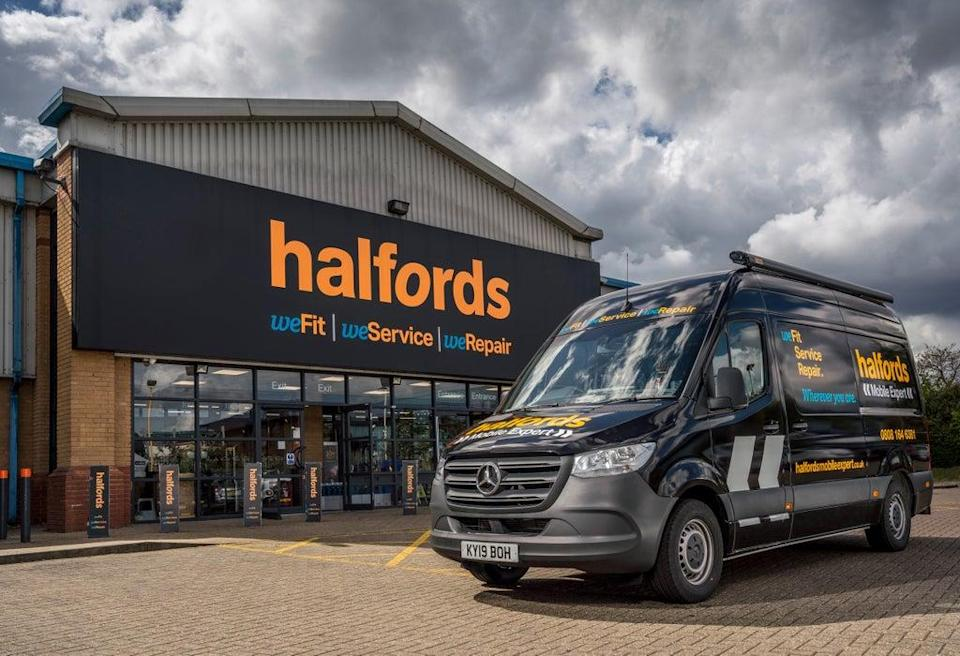 Halfords is among retailers to warn of supply chain issues (Halfords)