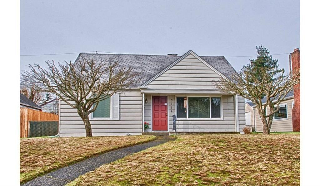 Tacoma, WA  3314 N Cheyenne St, Tacoma WA For sale: $199,900  This 3-bedroom, 1-bath in North Tacoma offers a functional floor plan and updated features in the kitchen and the bath. The level backyard is fully fenced and is complete with a sunny patio.