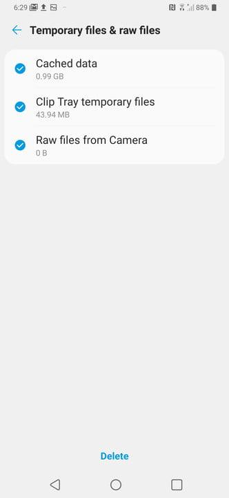 how to speed up your android phone storage4