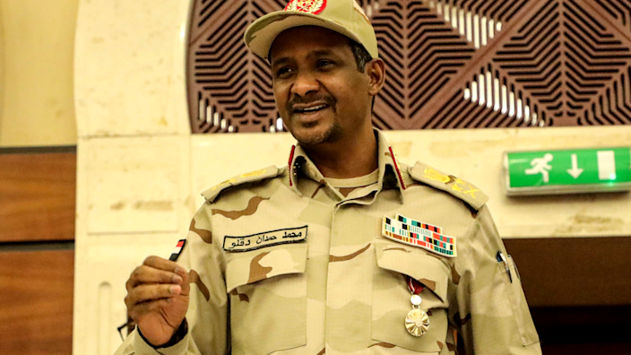 Hemeti is the commander of the Rapid Support Forces (RSF), which grew out of the Janjaweed militia accused of carrying out atrocities in Darfur