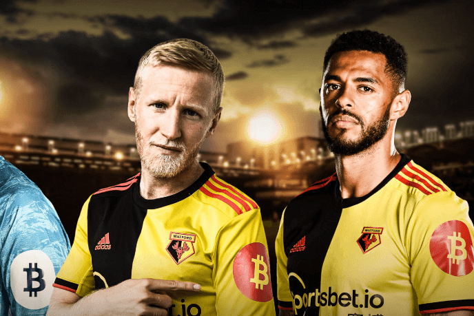 Bitcoin confirmed as Watford FC's new sleeve sponsor