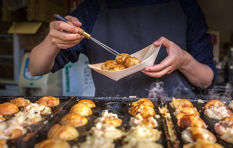 Eat takoyaki in Tokyo, one of the world's top destinations for street food - Calvin Chan Wai Meng