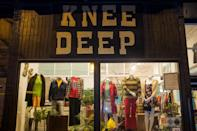 """<p>Legendary in Pilsen, Chicago's unofficial vintage district, <a href=""""http://www.kneedeepvintage.com/"""" rel=""""nofollow noopener"""" target=""""_blank"""" data-ylk=""""slk:Knee Deep"""" class=""""link rapid-noclick-resp"""">Knee Deep</a> is as much a lifestyle boutique as it is a vintage clothing store, with a healthy selection of vinyl, VHS tapes (!) and home wares. Men and women get equal love here; the store's stock is divided 50-50 between the sexes — a rarity among vintage stores, which usually cater to chicks. Prices are great: $12 gets you a '70s T-shirt, while dresses pre-1960 start at $48. Tags get slashed 20 to 50 percent the second Friday of the month, when the store stays open until midnight. <br></p><p><i><a href=""""http://www.kneedeepvintage.com/"""" rel=""""nofollow noopener"""" target=""""_blank"""" data-ylk=""""slk:Knee Deep"""" class=""""link rapid-noclick-resp"""">Knee Deep</a>, 1425 W. 18th St., Chicago, Ill. 60608. (312) 850-2510</i></p>"""