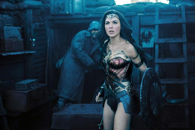 <p>The first film in our superhero-glutted decade to star a female comic-book crusader, Patty Jenkins's movie was greeted with superhuman expectations. The director exceeded them, not by reinventing the genre but returning it to form. Wonder Woman (Gal Gadot) is the purest definition of a superhero: an idealist who's stronger, kinder, smarter, and, well, better than the rest of us. The No Man's Land sequence, in which our heroine singlehandedly liberates an occupied village, was one of the most thrilling theatrical moments of 2017. <em>— G.W. </em>(Photo: Everett Collection) </p>