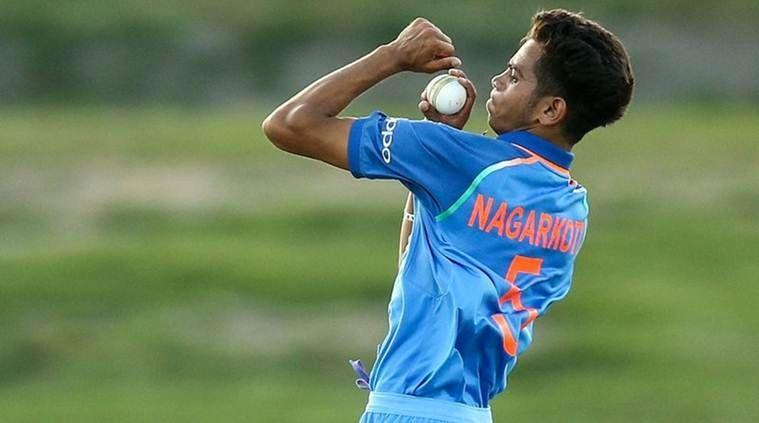 Kamlesh Nagarkoti led the bowling attack of the India under-19 team in the world cup last year.