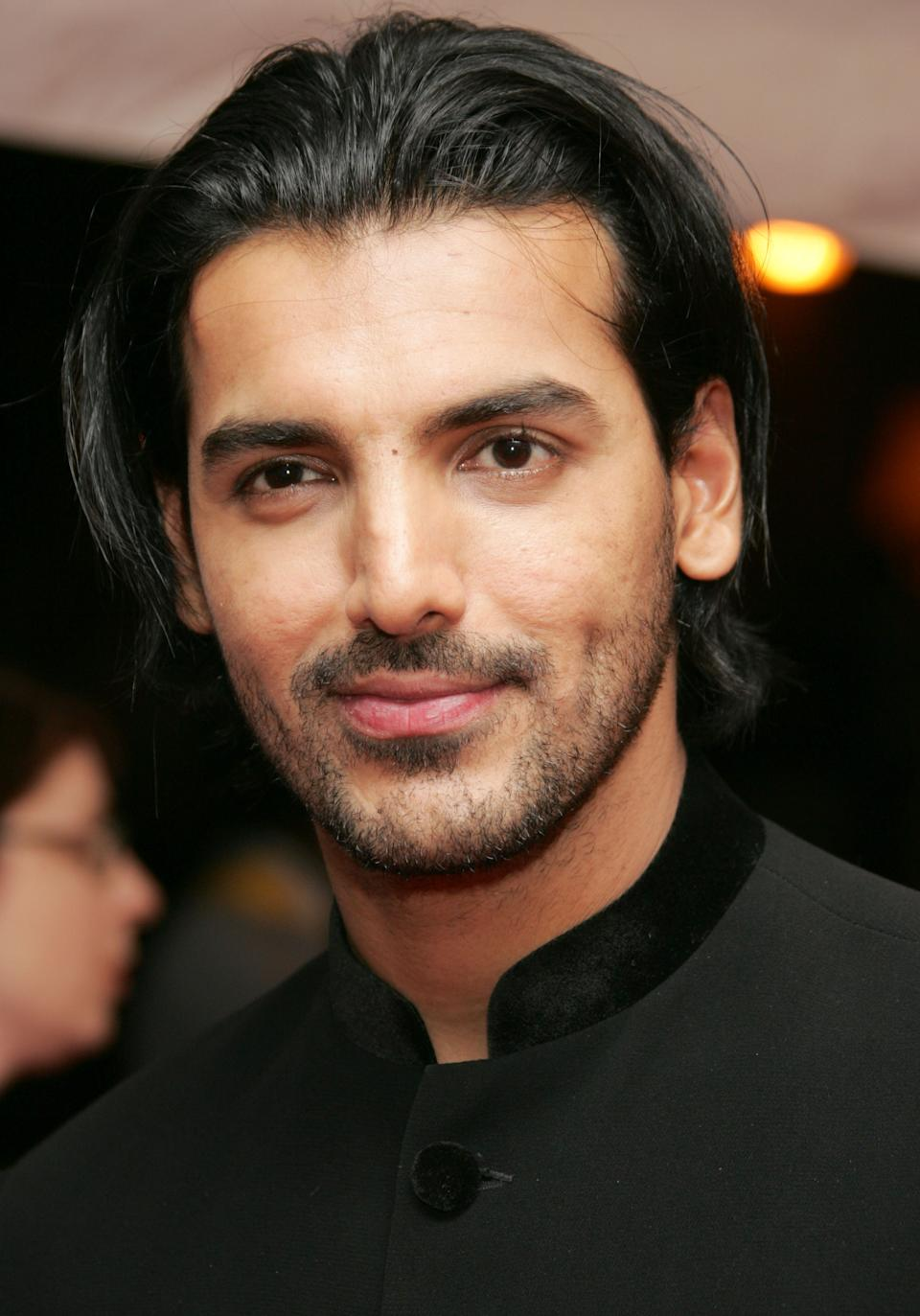 John Abraham When it comes to hair our boys aren't far behind. Who can forget the Dhoom actor John Abraham created with his long, straight style in 2005. Every college going guy at the time was going for the look.