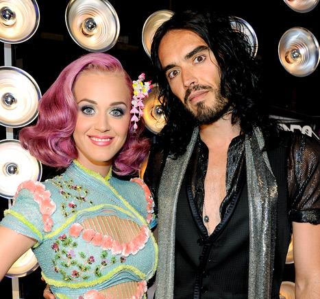 "Russell Brand Jokes He Thought of ""Anyone Else"" During Sex With Katy Perry"