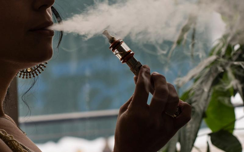 This study is the first to find potentially harmful biological substances in e-cigarettes - Bloomberg News