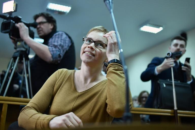 Marina Zolotova, the editor-in-chief of tut.by, was detained in August along with nearly 20 other journalists