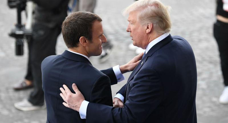What if the French president actually likes him?