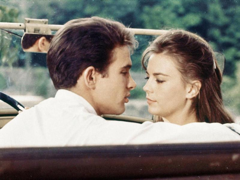 Beatty and Natalie Wood in 'Splendour in the Grass' (1961)