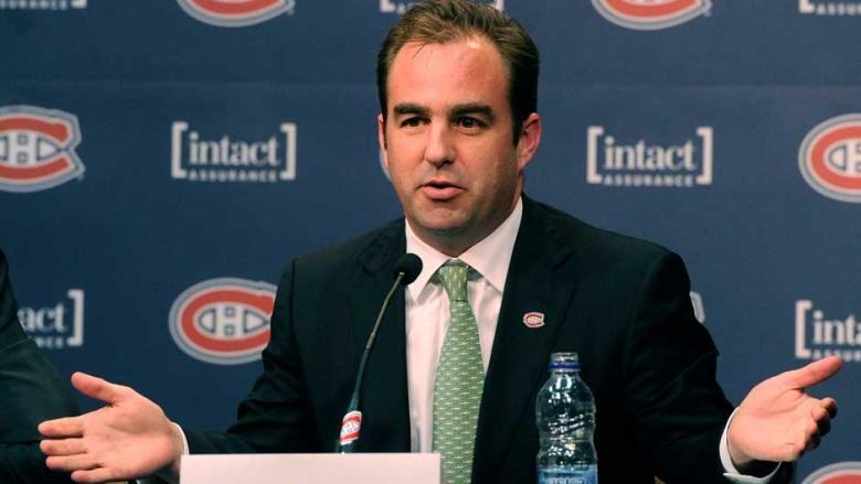 Montreal Canadiens owner Geoff Molson.