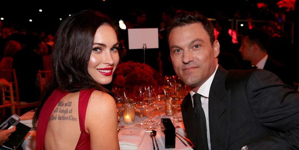 "Brian Austin Green Is Apparently ""Totally Fine"" With Megan Fox Dating Machine Gun Kelly"