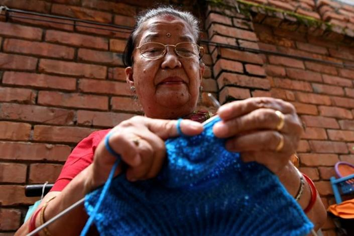 Champa Devi Tuladhar's hand-knitted socks inspired her granddaughter to set up a crafts venture that not only sells such handmade products but also delves into the seldom-told lives of their mostly elderly female creators