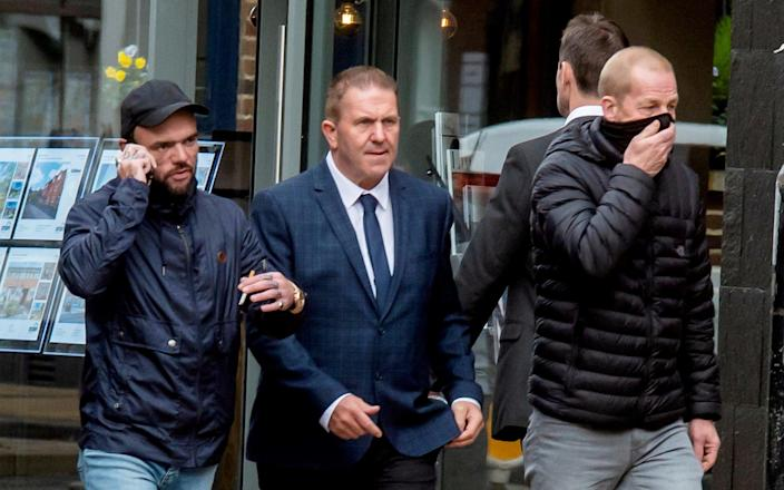 (L-R) George Powell, Simon Wicks and Layton Davies were jailed on Friday - SWNS