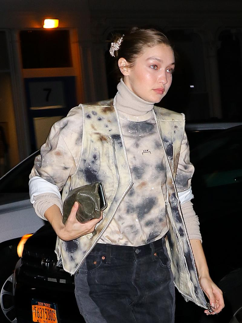 Let Gigi Hadid School You on the Art of Scrunchie Styling