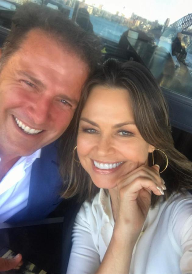 Lisa posted a selfie with her former television presenter co-host. Source: Instagram