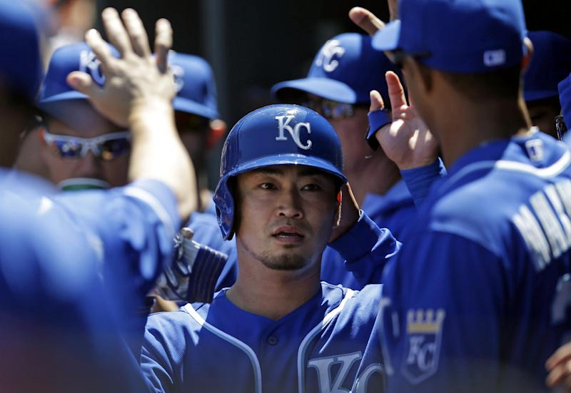 Infante's 6 RBIs carry Royals past Orioles 9-3