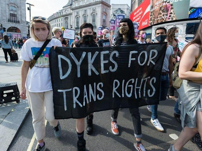 Dykes for trans lives